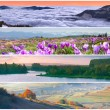 Set of the 4 seasons landscape — Stock Photo #50892435