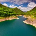 View from the bridge over the lake Valvestino — Stock Photo #50895505