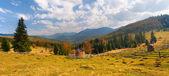 カルパティア山脈の秋の風景 — ストック写真
