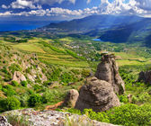 Valley of Ghosts in Crimea — Stock Photo