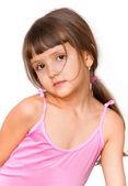 Amazing adorable little girl — Stock Photo