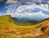 Landskap i bergen — Stockfoto