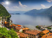 View from the town of Argegno — Stock Photo