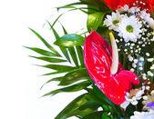 Bright flower bouquet — Stock Photo