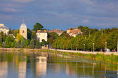 General view city of Ternopil. — Stock Photo