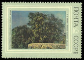 "USSR stamp shows drawing of artist Alexander Ivanov ""The lower gallery at Albano"" — Stock Photo"