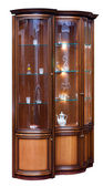 Wooden old stile bureau — Stock Photo