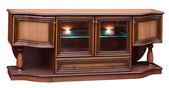 Wooden old stile bureau — Foto Stock