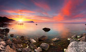 Colorful summer seascape. — Stockfoto