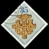 Stamp printed in German Democratic Republic — Stock Photo