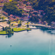 Yacht Club in the town of Limonta in Lake Lecco. — Stock Photo #51267155