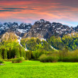 Beautiful spring landscape in the Swiss Alps, Bregaglia.  — Stock Photo #51267159