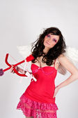 Valentines, Angel, Fairy, Fiery, Cupid — Stock Photo