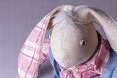 Plush bunny tilde — Stock Photo