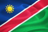 Flag of Namibia — Stock Photo