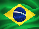 Flag of Brazil — Foto de Stock