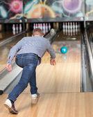 Hra bowling — Stock fotografie