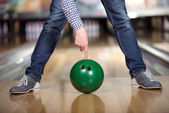 Jeu de bowling — Photo
