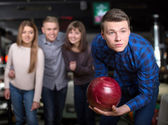 Bowling spel — Stockfoto