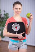 Fitness Woman — Stock Photo