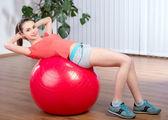 Mujer fitness — Foto de Stock