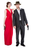 Gangsters — Stock Photo