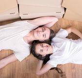House Moving — Стоковое фото