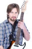 Musician people — Stock Photo
