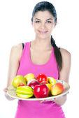 Fitness Woman — Stock Photo