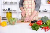 烹饪 — 图库照片