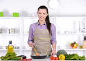 Cooking — Stock Photo