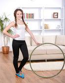 Fitness Home — Stock Photo
