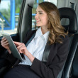 Business Woman In A Car — Stock Photo #51160489