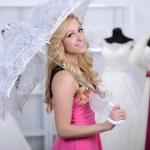 Buying Wedding Dress — Stock Photo #51164107