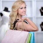 Buying Wedding Dress — Stock Photo #51164125