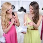 Buying Wedding Dress — Stock Photo #51164181