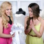 Buying Wedding Dress — Stock Photo #51164187
