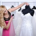 Buying Wedding Dress — Stock Photo #51164307