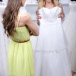 Buying Wedding Dress — Stock Photo #51164441