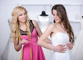 Buying Wedding Dress — Photo