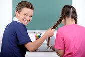 学校の子供たち — ストック写真