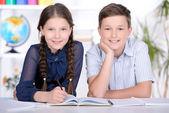Enfants d'âge scolaire — Photo
