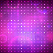 Disco background with dots — Stock Vector