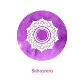 Sahasrara chakra — Stock Vector