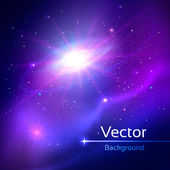 Space illustration. — Stock Vector
