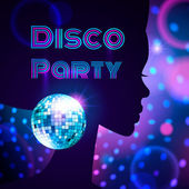 Disco Party. — Stock Vector