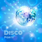Disco ball. — Stock Vector