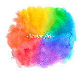 Watercolor hand painted texture — Stock Vector