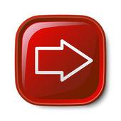 Arrow icon — Stock Vector