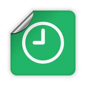 Clock icon — Stock Vector